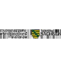 Staatsministerium für Wissenschaft und Kunst SMWK logo